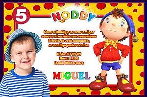 Convite digital personalizado do Noddy com foto 009