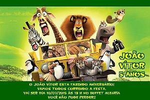 Convite digital personalizado Madagáscar 006