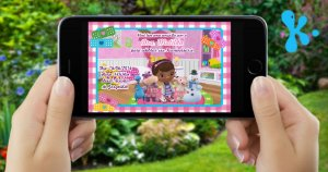 Convite digital personalizado Doutora Brinquedos 003