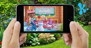 Convite digital personalizado Doutora Brinquedos 006