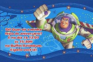 Convite digital personalizado Buzz Lightyear Toy Story 002