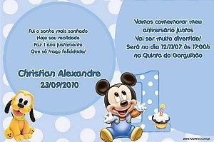Convite digital personalizado Baby Disney 023