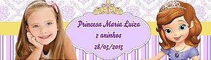 Arte para adesivo de baldinho Princesa Sofia