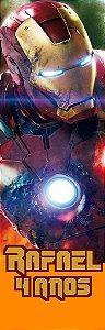 Arte para adesivo de caixa acrílica de pipoca Vingadores