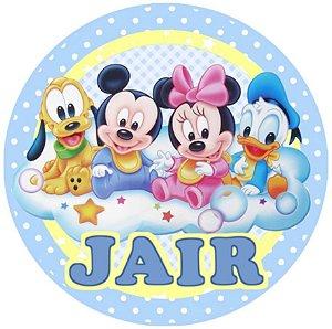 Embalagem com 20 adesivos Baby Disney