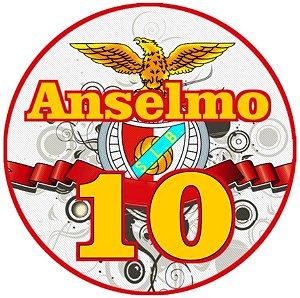 Embalagem com 20 adesivos Benfica