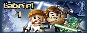 Arte para adesivo de squeeze Lego Star Wars