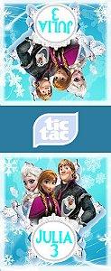 Adesivo para Tic Tac Frozen - O Reino do Gelo