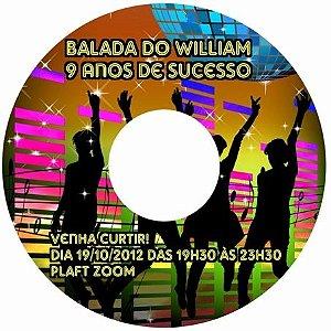 Kit digital personalizado Baladinha com 10 peças