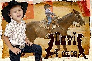 Kit digital personalizado Cowboys com 25 peças