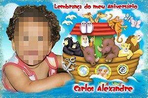 Kit digital personalizado Arca de Noé com 12 peças