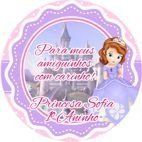 Kit digital personalizado Princesa Sofia com 5 peças