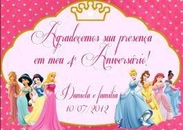 Kit digital personalizado Princesa Sofia com 19 peças