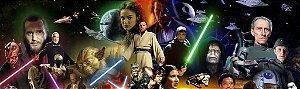 Kit digital personalizado dos Star Wars com 7 peças