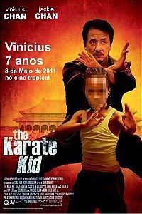 Kit digital personalizado Karate Kid com 5 peças
