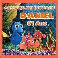 Kit digital personalizado Procurando Nemo com 8 peças