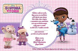 Kit digital personalizado Doutora Brinquedos com 9 peças
