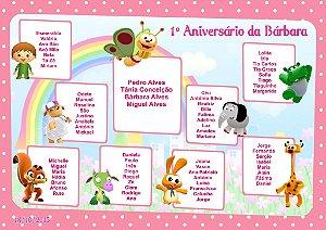 Kit digital personalizado Baby TV com 20 peças