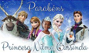 Kit digital personalizado Frozen com 19 peças