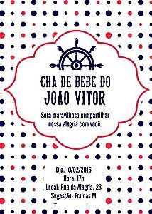 Convite digital personalizado para Chá de Bebe 016