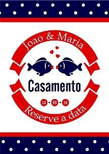 Convite digital personalizado Reserve a Data 004