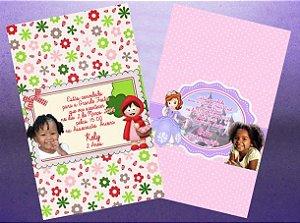 Envelope-convite personalizado