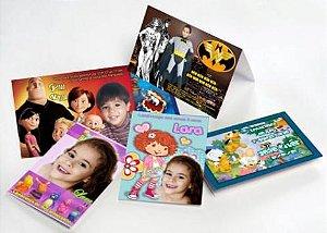 Convite Cartão impressão na capa