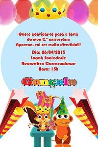 Convite digital personalizado Baby TV 036