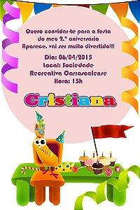 Convite digital personalizado Baby TV 037