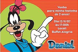 Convite digital personalizado Pateta 001
