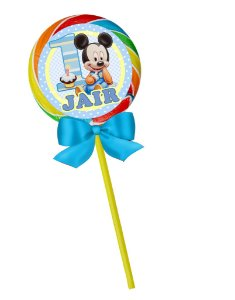 Pirulito colorido Baby Disney