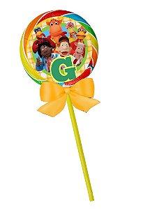 Pirulito colorido Baby Disney Cocoricó