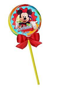 Pirulito colorido Mickey Mouse 002