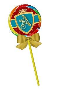 Pirulito colorido Rei Arthur