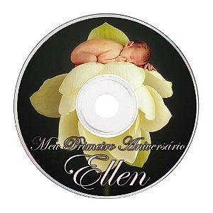 Rótulo adesivo CD/DVD - Anne Geddes