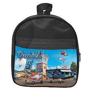 Mochila personalizada Aviões da Disney