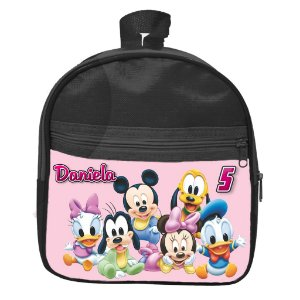 Mochila personalizada Baby Disney Rosa