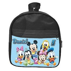 Mochila personalizada Baby Disney Azul
