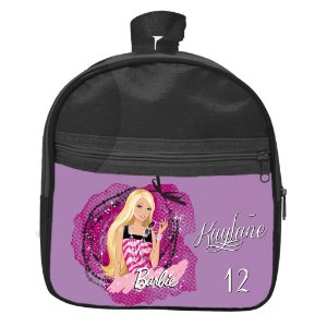 Mochila personalizada Barbie Lilas