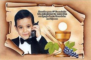Convite ou lembrancinha digital de Comunhão 010