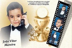 Convite ou lembrancinha digital de Comunhão 032
