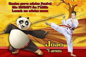 Convite digital personalizado Kung Fu Panda 003