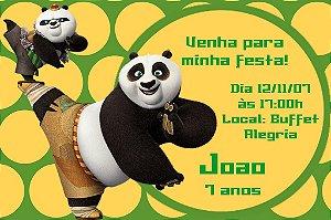 Convite digital personalizado Kung Fu Panda 004