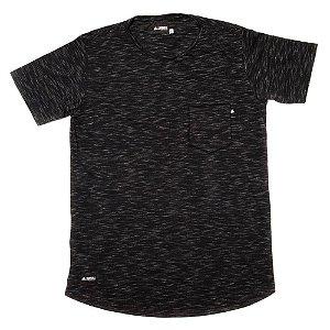 Camiseta Longline Flamê - Black