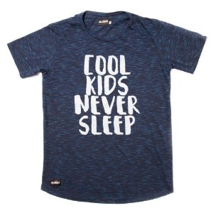 Camiseta Flamê Longline - Never Sleep