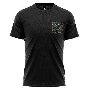 Camiseta Bolso Estampado - Beer