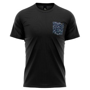 Camiseta Bolso Estampado - Sea