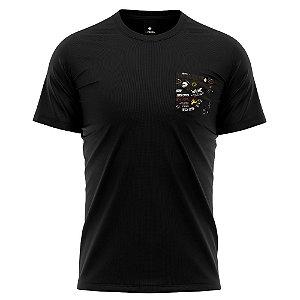 Camiseta Bolso Estampado - Catch On