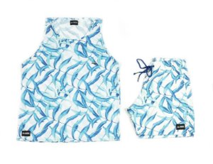 Conjunto Estampado Regata & Shorts - Frosty