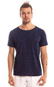 Camiseta Básica Algodão Mescla LaVíbora - Azul